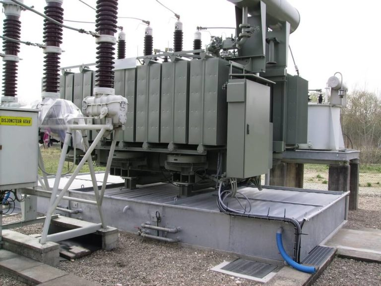 BAF3 - Cubetos de retención para transformadores eléctricos