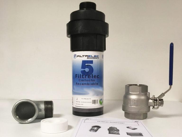 FILTRELEC F5 - Sistema de filtración de agua contaminada con hidrocarburos