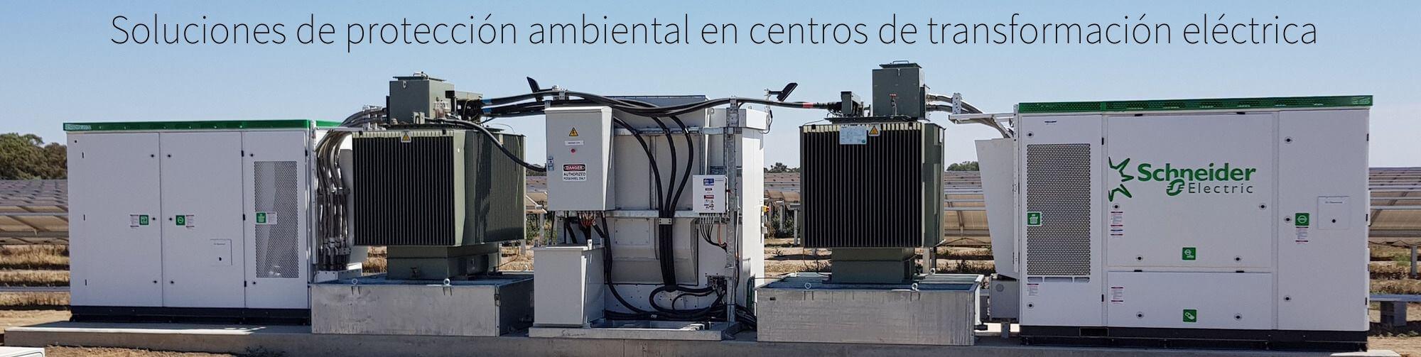 Soluciones de protección ambiental en centros de transformación eléctrica