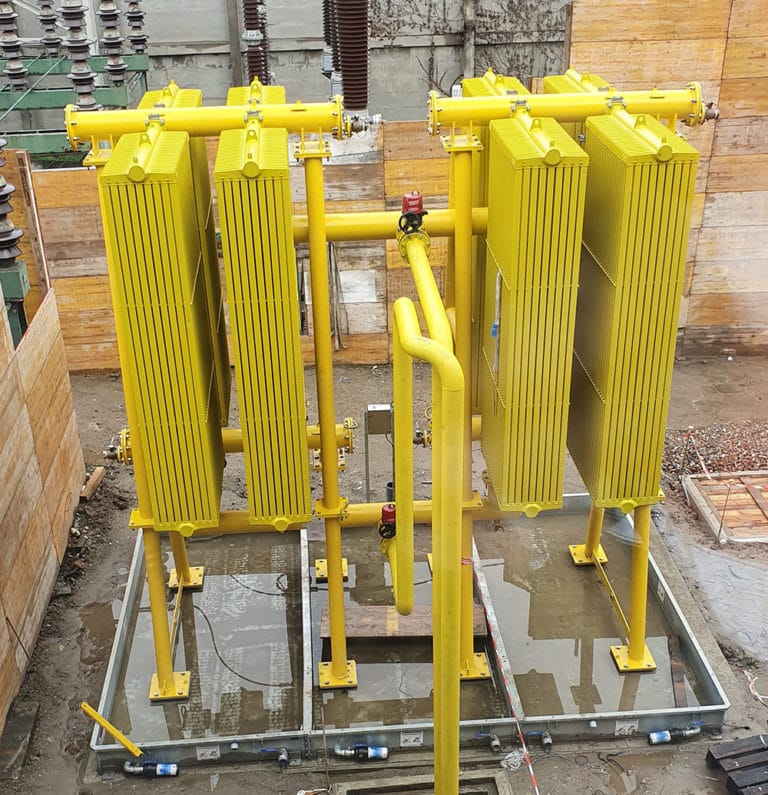 BRX - Cubetos de retención de acero modulares