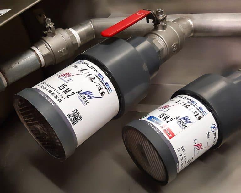 FILTRELEC: Sistema de filtración de agua de lluvia contaminada con hidrocarburos en los cubetos de retención